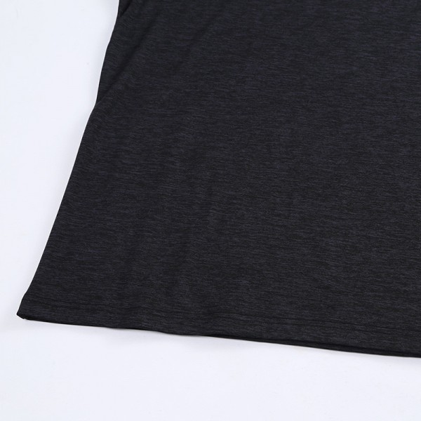 New Men Tee Shirt V Neck Slim Fit Long Sleeve T Shirt Men Solid Color High Quality Casual Mens T Shirts New Arrival Extra Image 4