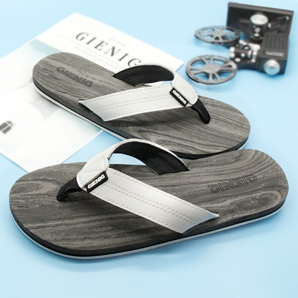 New Outdoor Slippers Simple Beach Flip Flops Comfortable Personalized Sandals For Men 2018 Collection Of Sandals Extra Image 2