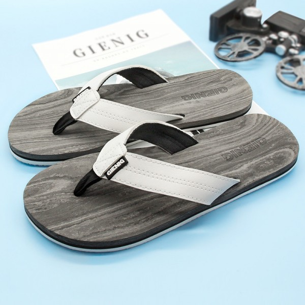 New Outdoor Slippers Simple Beach Flip Flops Comfortable Personalized Sandals For Men 2018 Collection Of Sandals Extra Image 3