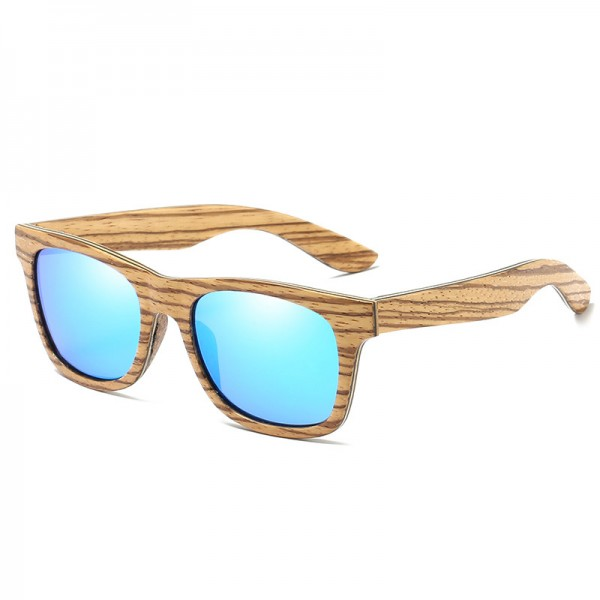 New Polarized Mens Brand Mirror Eyewear Wooden Sun Glasses Women Men Brand Wood Sunglasses Bamboo For Friends Extra Image 4