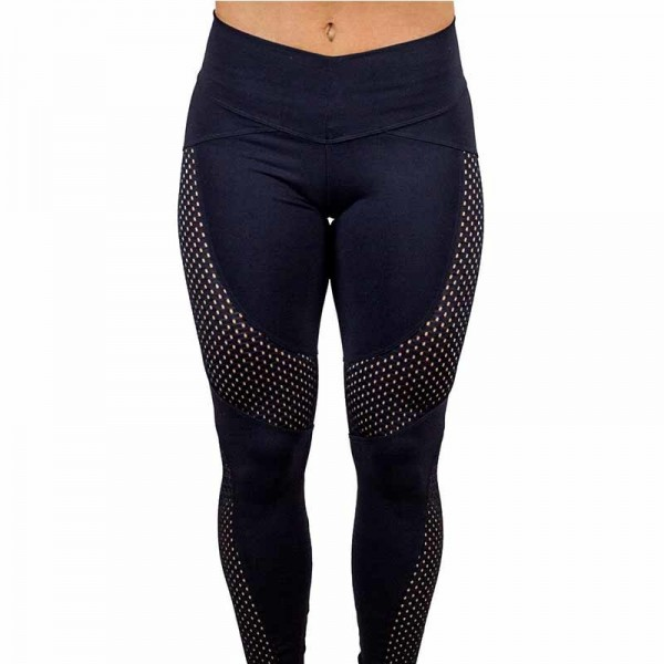 New Quick Drying Yarn Leggings Fashion Ankle Length Leggings Women Fitness Workout Black Leggins For Ladies Extra Image 3
