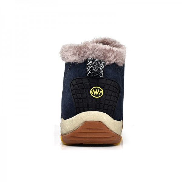 New Roman Winter Fur Warm Snow Boots for Men Sneakers Male Top Suede Leather Casual Shoes Ankle Boots Extra Image 4