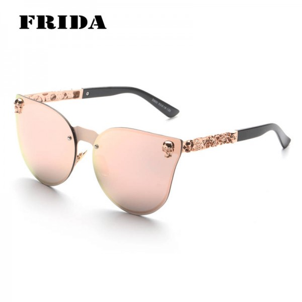 New Skull Design Gothic Cool Street Sunglasses New Style For Women Thumbnail