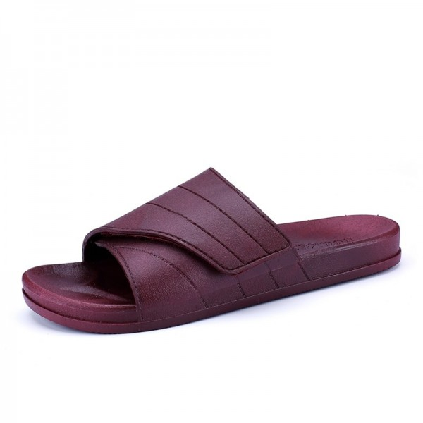 New Slippers Men Casual Sandals Leisure Soft Slides Eva Massage Beach Slippers Water Shoes Mens Sandals Flip Flops Extra Image 3