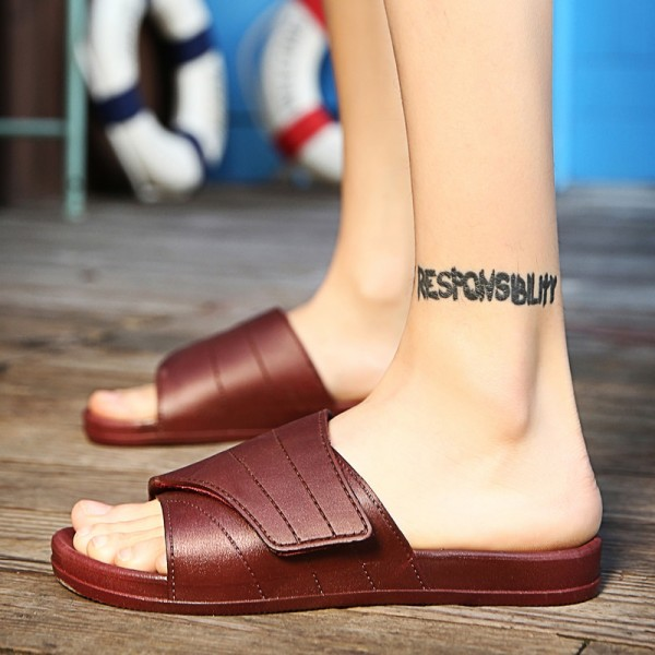 New Slippers Men Casual Sandals Leisure Soft Slides Eva Massage Beach Slippers Water Shoes Mens Sandals Flip Flops Extra Image 4