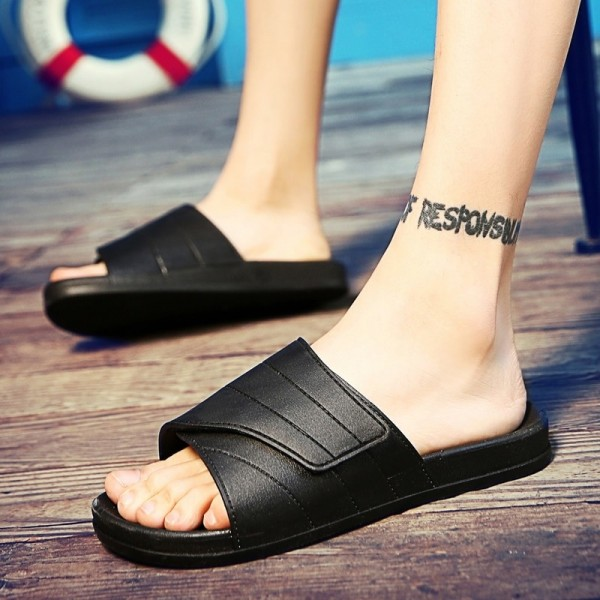 New Slippers Men Casual Sandals Leisure Soft Slides Eva Massage Beach Slippers Water Shoes Mens Sandals Flip Flops Extra Image 5