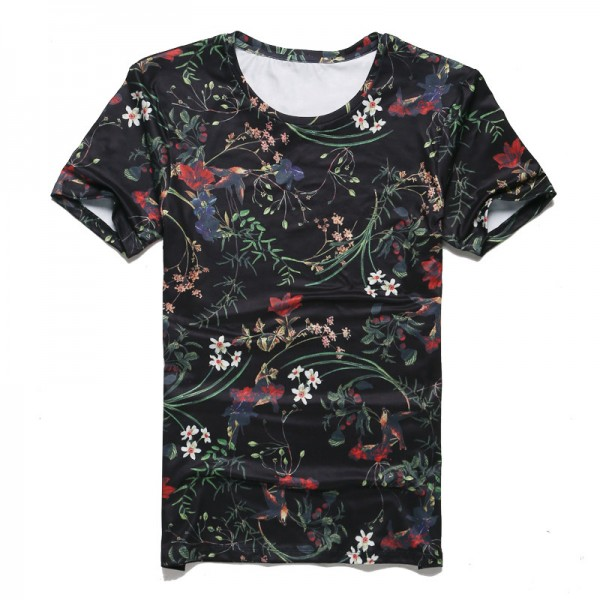 New Spring Summer T Shirts For Men Short Sleeved Cotton Casual Tops Tees Fitness Clothing For Men Extra Image 4