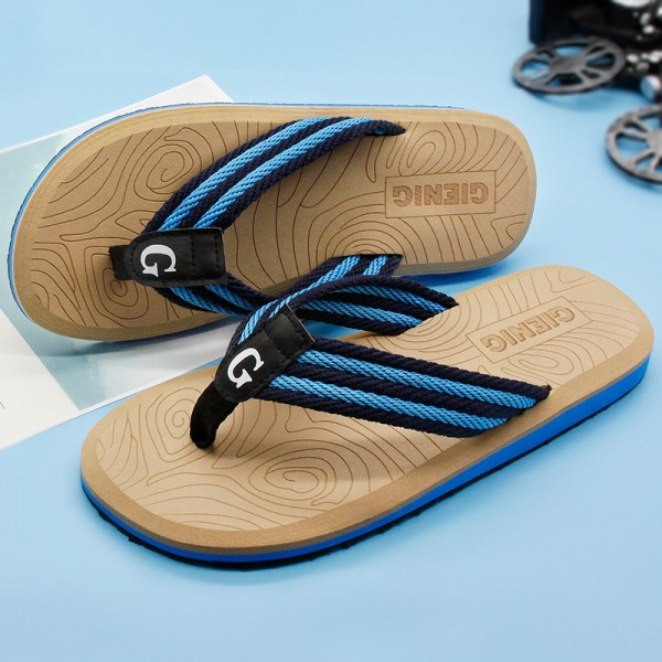 New Summer Flip Flops Sandals For Men 2018 Collection Slippers Beach Male Slippers Outdoor Fashion Sandals Extra Image 1