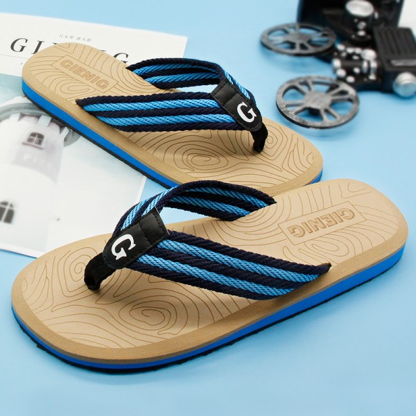 New Summer Flip Flops Sandals For Men 2018 Collection Slippers Beach Male Slippers Outdoor Fashion Sandals Extra Image 2