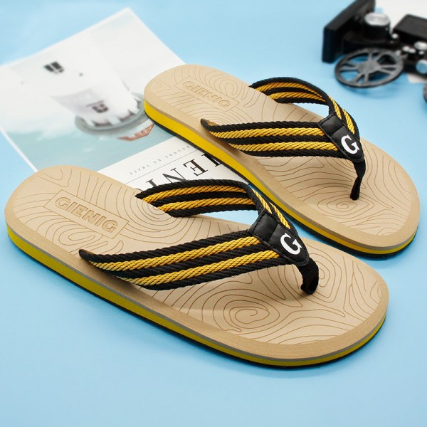 New Summer Flip Flops Sandals For Men 2018 Collection Slippers Beach Male Slippers Outdoor Fashion Sandals Extra Image 3
