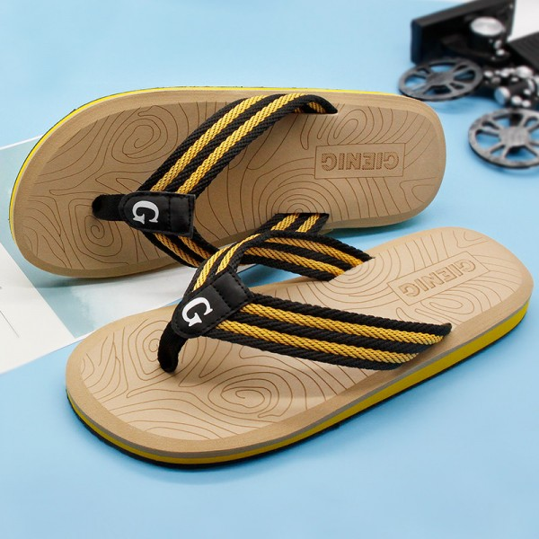 New Summer Flip Flops Sandals For Men 2018 Collection Slippers Beach Male Slippers Outdoor Fashion Sandals Extra Image 4