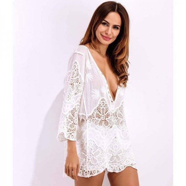 3f86e0aef53a0c New Summer Women Beach Cover Up Sexy Bathing Swimsuit Cover Up ...