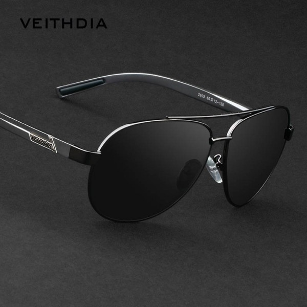 New Viethdia Polarized Vintage Sunglasses Aluminium Magnesium Alloy Men Thumbnail