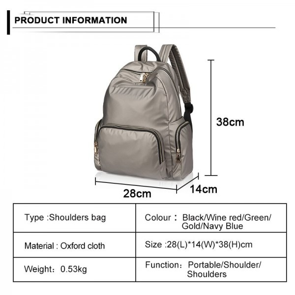 New Waterproof Oxford Backpack Travel Bag for Men Women Teenagers School Backpack Boys Girls Book Bag Extra Image 6