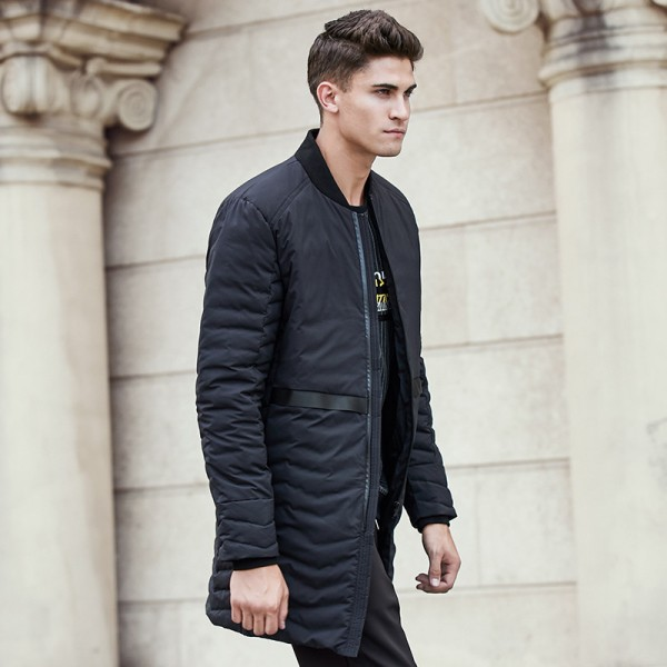 d0399a7dc754b New winter down coat men brand clothing top quality white duck down jacket  male long fashion ...