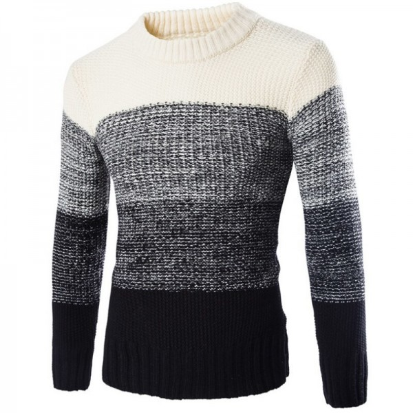 New Winter Fashion Top Personality High Grade Men New England Pullovers Leisure Casual Mens Cashmere Sweater Extra Image 5