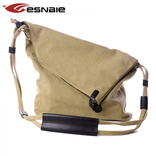 New Women Messenger Bags Female Canvas Vintage Shoulder Bags For Ladies Designer Crossbody Bags Thumbnail