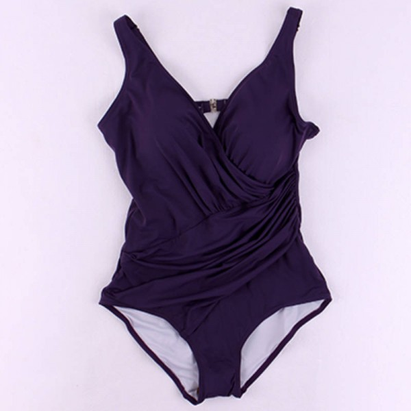Vintage Swim Dress Part - 32: ... Purple Purple