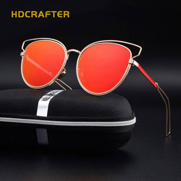 Oversized Cat Eye Sunglasses Polarized UV400 Colourful Ladies Eyewear New Trending Fashion Shades For Ladies Extra Image 4