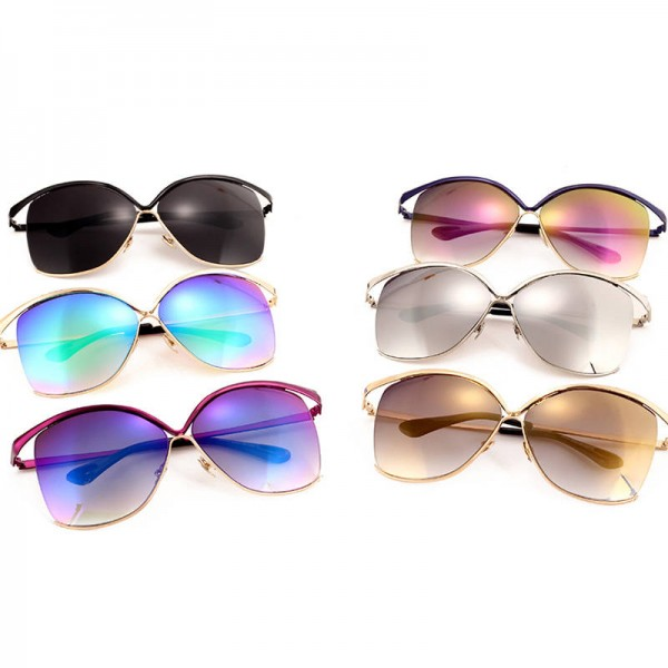 Oversized Women Sunglasses Luxury Cat Eye Big Frame Sexy Fashion Female Sun Shades Fully Customized Eyewear Extra Image 3