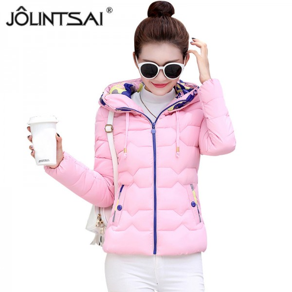 Parkas For Women Winter Fashion Jacket Women Thicken Outerwear Hooded Coats Short Female jaqueta feminina inverno Extra Image 1