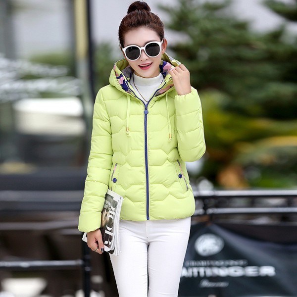 Parkas For Women Winter Fashion Jacket Women Thicken Outerwear Hooded Coats Short Female jaqueta feminina inverno Extra Image 2