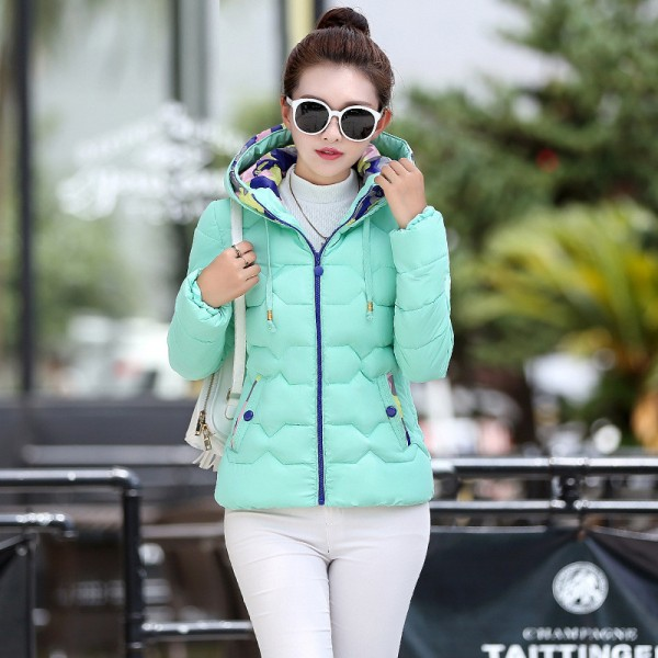 Parkas For Women Winter Fashion Jacket Women Thicken Outerwear Hooded Coats Short Female jaqueta feminina inverno