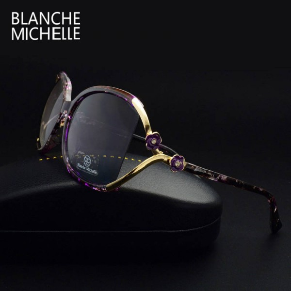 Photochromic Polarized Sunglasses Vintage Goggle UV-Proof Designer Eyewear Anti-Radiation Glasses For Women Extra Image 2