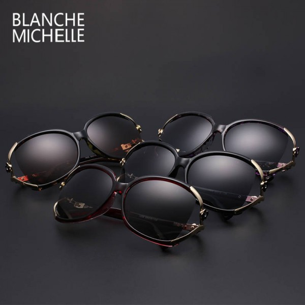 Photochromic Polarized Sunglasses Vintage Goggle UV-Proof Designer Eyewear Anti-Radiation Glasses For Women Extra Image 5