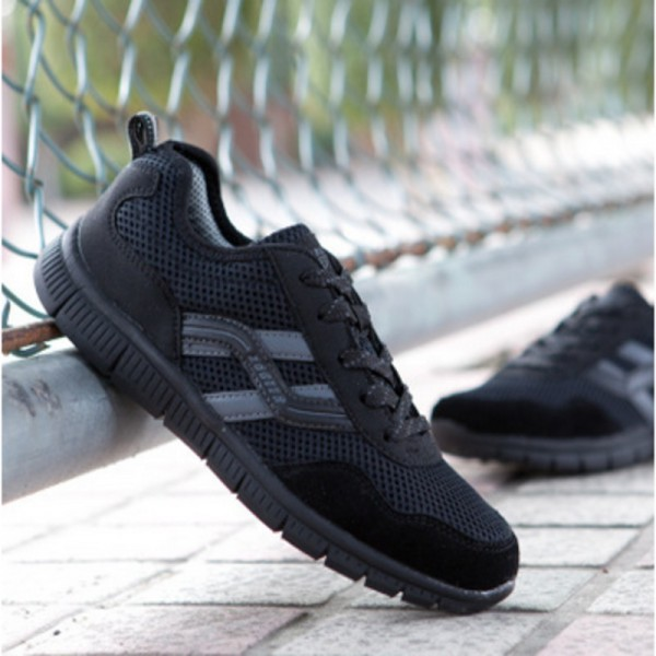 Plus Size 44 48 Autumn Spring Men Shoes Gauze Breathable Shoes Men Large Size Casual Outdoor Flat Sports Shoes