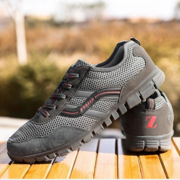 Plus Size 44 48 Autumn Spring Men Shoes Gauze Breathable Shoes Men Large Size Casual Outdoor Flat Sports Shoes Extra Image 5