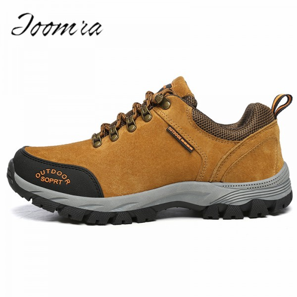 Plus Size Male Footwear Casual Shoes High Quality Climbing Hiking Trekking Shoes Wear Resistant Slip On Footwear Extra Image 1