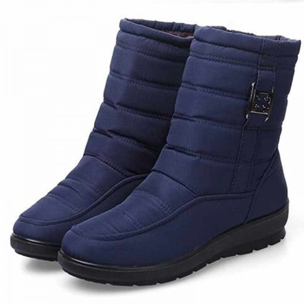 Plus size snow boots women winter plus fur keep warm non slip women boots waterproof casual women shoes Extra Image 2