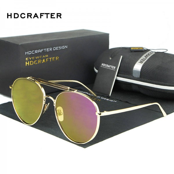 Polarized Aviator Sunglasses Oval Anti Reflective UV400 Designer Women Sunglasses Polarized Aviator Shades Extra Image 1