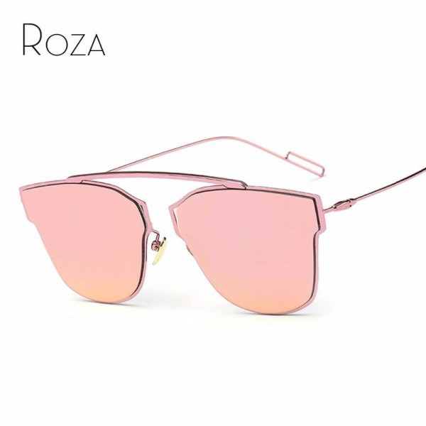 Polarized Fishing Sunglasses For Women Single Nose Design Flat Lens Metal Frame Eyewear For Ladies Extra Image 0