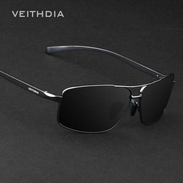 Polarized Mens Sunglasses Vintage Aluminium Frame Men Goggles High Quality Polarized UV400 Eyewear Accessories Extra Image 3