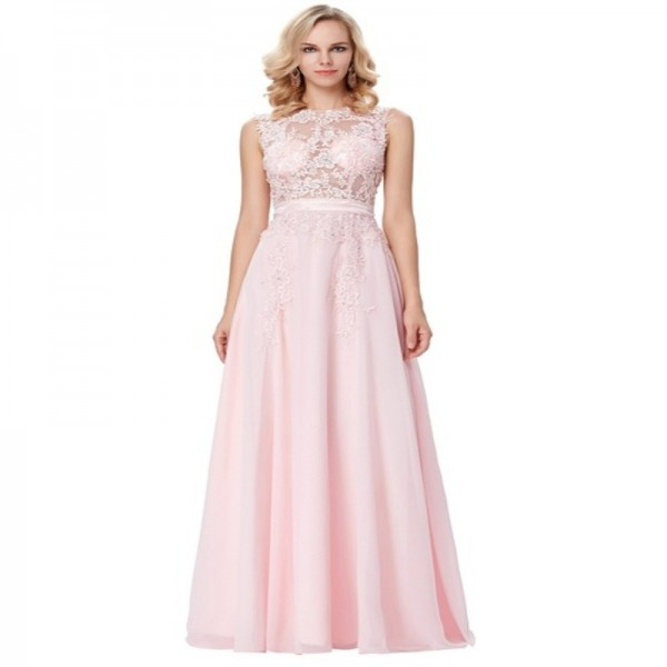 Occasion Dresses Wedding Light Pink