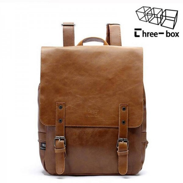 Real Men Travel Ancient Style High Quality School Travel Bags For Men Thumbnail