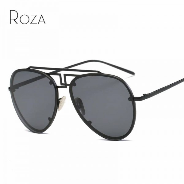 Retro Aviator Sunglasses Brand Ultra Light Designer Unisex Polarized UV400 Sun Shades Copper Frame Shades Extra Image 0