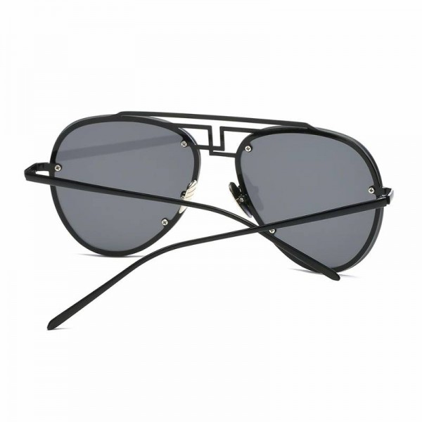 Retro Aviator Sunglasses Brand Ultra Light Designer Unisex Polarized UV400 Sun Shades Copper Frame Shades Extra Image 3