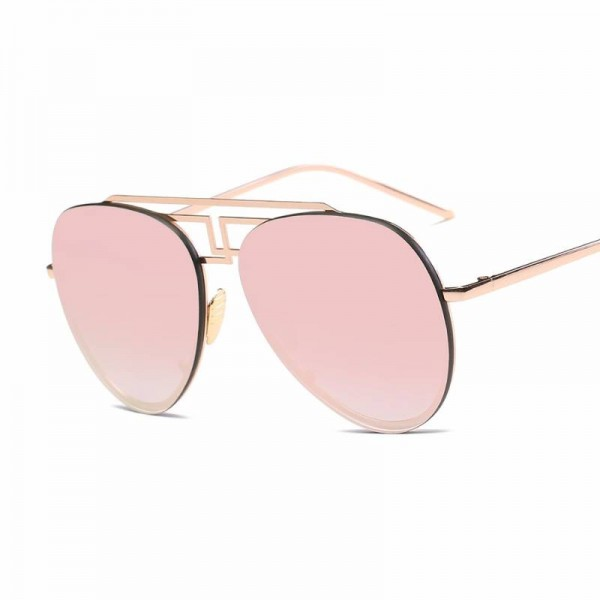 Retro Aviator Sunglasses Brand Ultra Light Designer Unisex Polarized UV400 Sun Shades Copper Frame Shades Extra Image 4