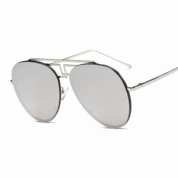 Retro Aviator Sunglasses Brand Ultra Light Designer Unisex Polarized UV400 Sun Shades Copper Frame Shades Extra Image 5