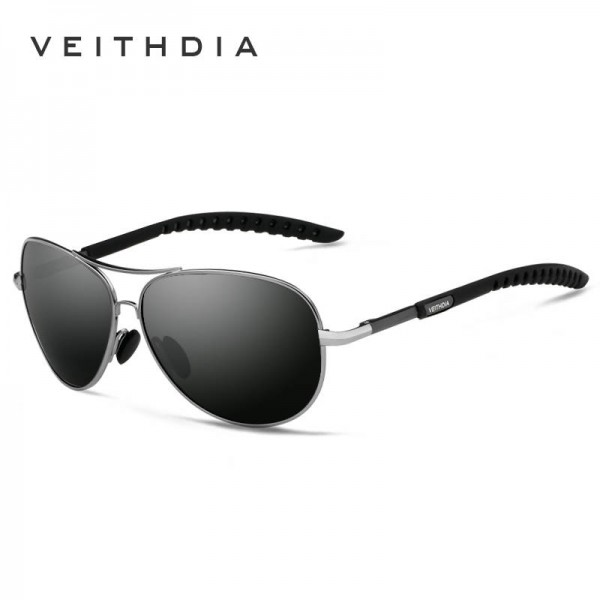 Retro Aviator Sunglasses Polarized UV400 Customized Pilot Aviator Classic Modern Design Eyewear For Men