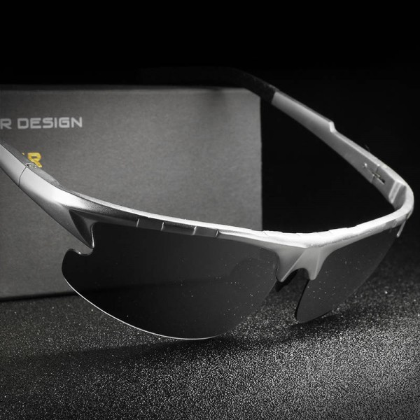 Semi Rimless HD Crafter Sunglasses For Men High Quality Polarized UV400 Male Goggles New Fashion Shades Extra Image 3