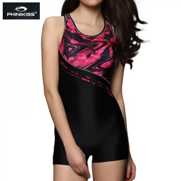 Sexy One Piece Swimsuit Large Professional Sports Bathing Suit Triathlon Padded Unwired Beach Dress Extra Image 2