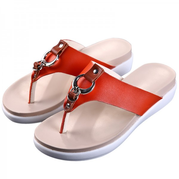 Slippers Platform Summer Flats Solid Flip Flops Beach Shoes Woman Creepers Slip On Women Shoes Size 35 40 Extra Image 5