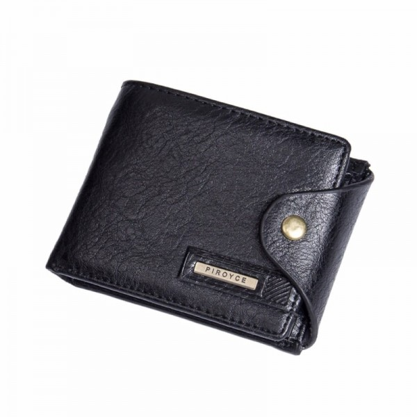 Small Multi Function Wallets And Purses For Men Coin Holder With Zipper Cute Money Bag Purse For Males Extra Image 3