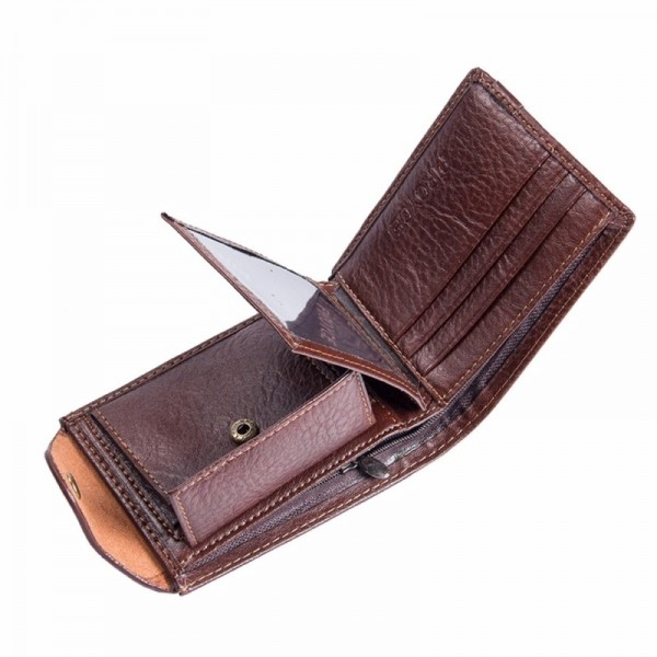 Small Multi Function Wallets And Purses For Men Coin Holder With Zipper Cute Money Bag Purse For Males Extra Image 4