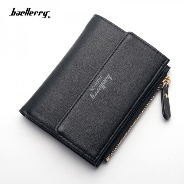 Small Wallets Tassel Pendant Short Money Wallets PU Leather Lady Zipper Coin Pocket Purses Female Card Bag Extra Image 1