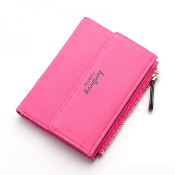 Small Wallets Tassel Pendant Short Money Wallets PU Leather Lady Zipper Coin Pocket Purses Female Card Bag Extra Image 2